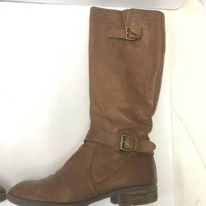 Franco Sarto Pammy Tall Leather Boot Size 9